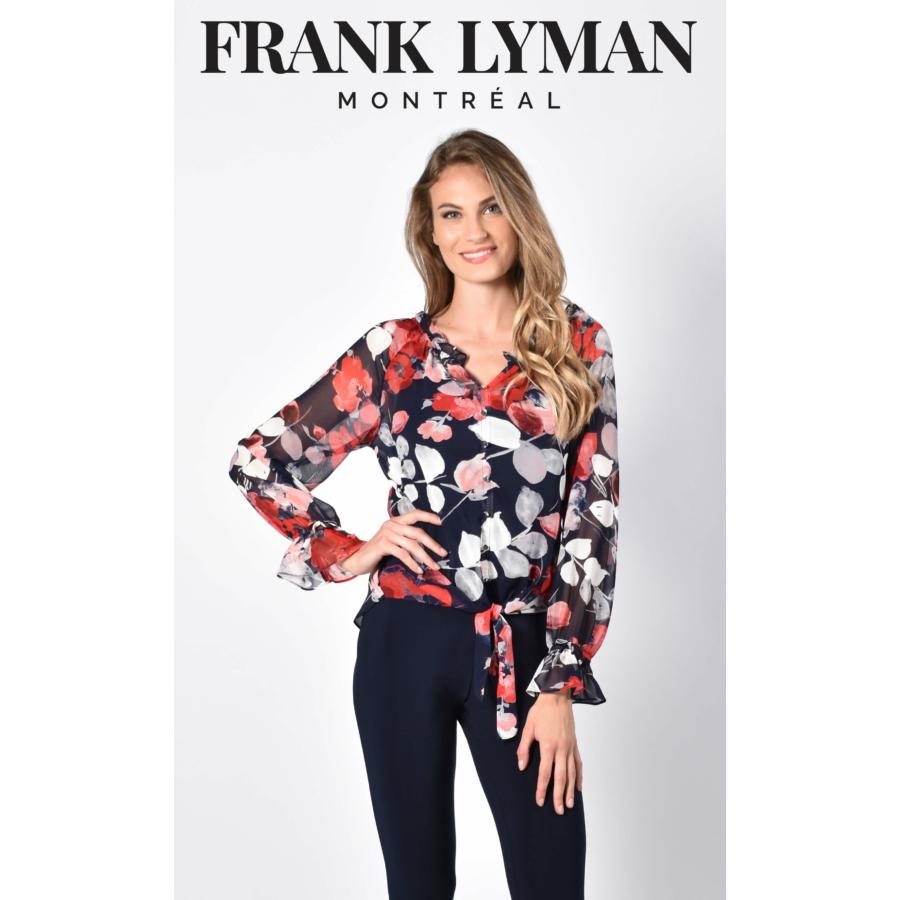 FRANK LYMAN női hosszú ujjú gombos blúz