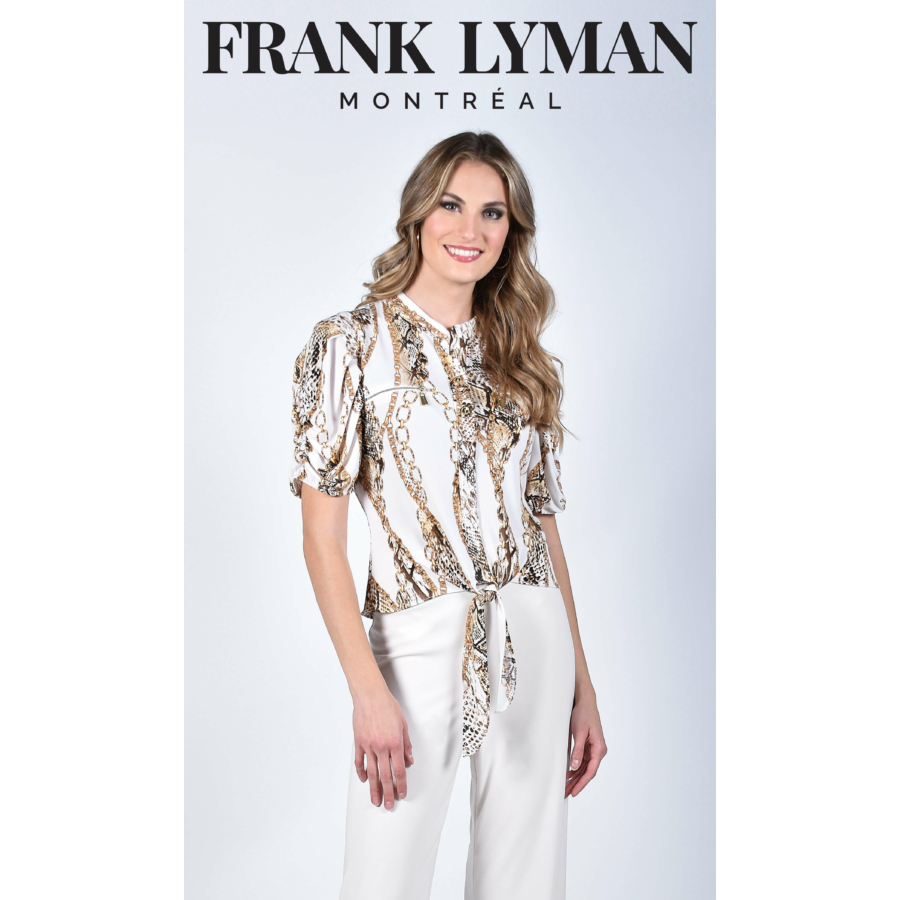 FRANK LYMAN rövidujjú női blúz