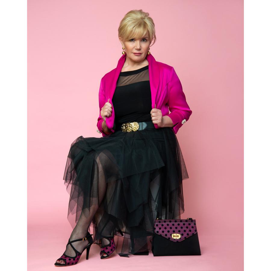 FRANK LYMAN pink női bolero