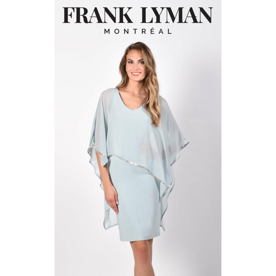FRANK LYMAN női mentazöld alkalmi ruha