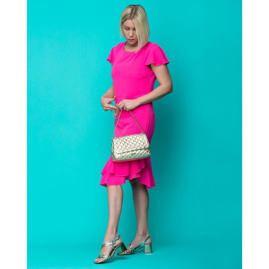 FRANK LYMAN pink női ruha
