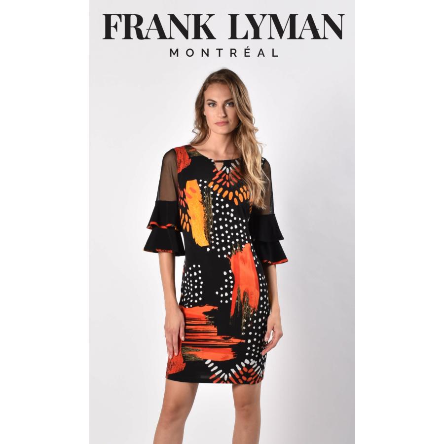 FRANK LAYMAN színes női hosszú ujjú ruha