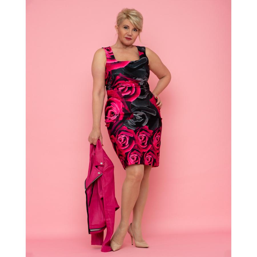 JOSEPH RIBKOFF virágmintás női alkalmi ruha