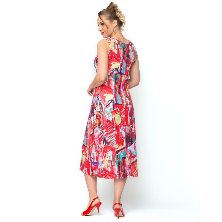 MALOKA ujjatlan női nyári ruha