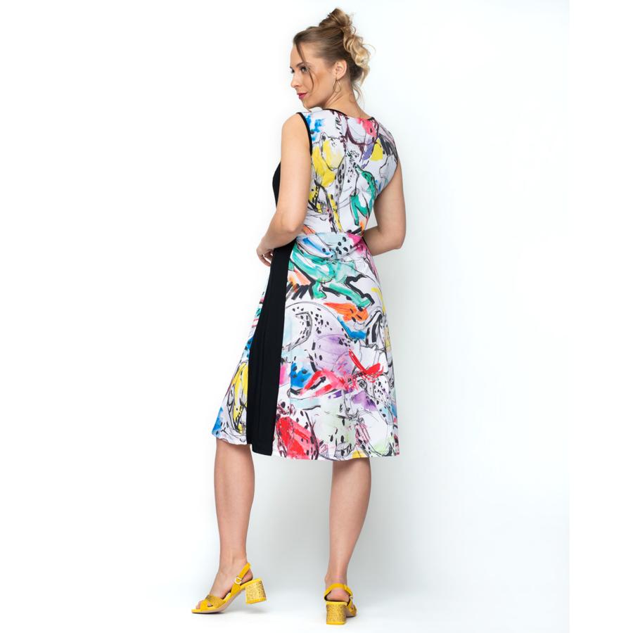 MALOKA színes női nyári ruha