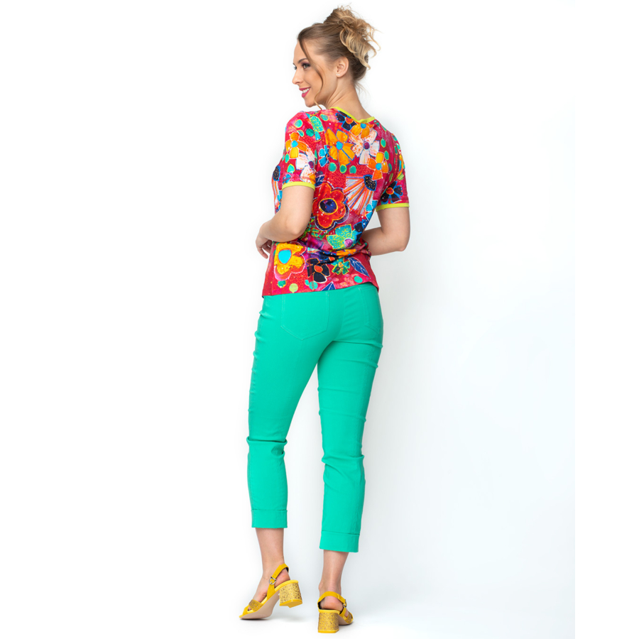 DOLCEZZA színes női rövid ujjú póló