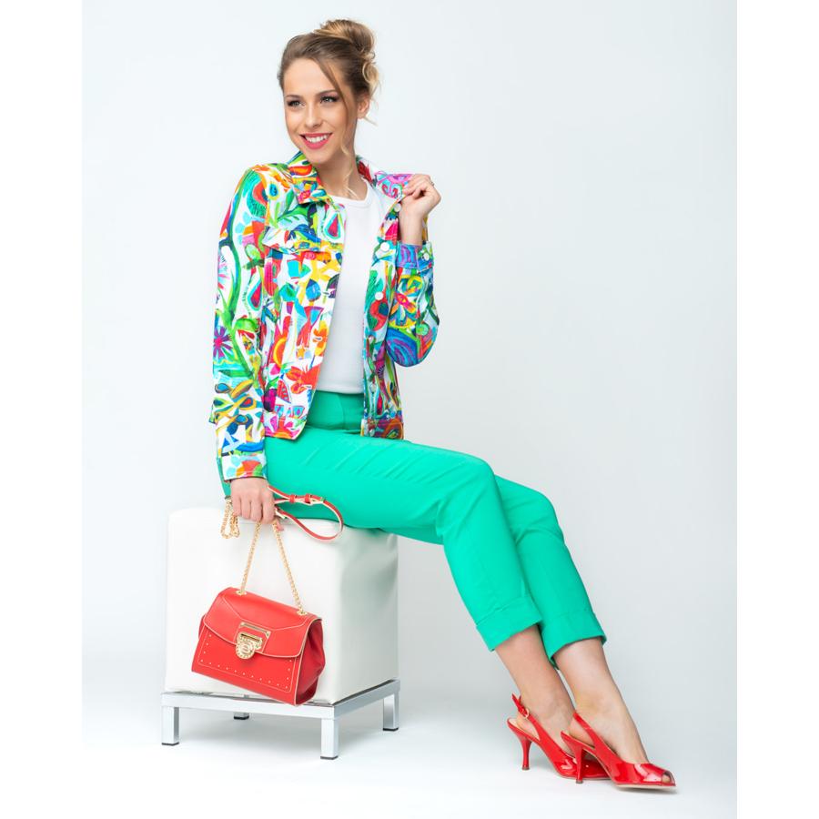 DOLCEZZA női színes pamut dzseki