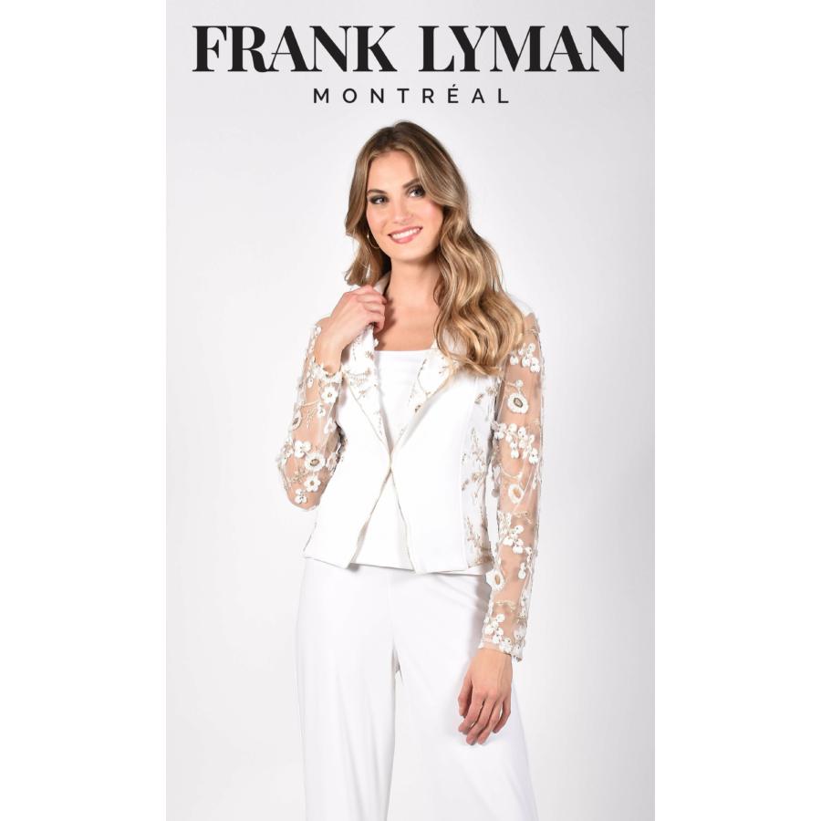 FRANK LYMAN fehér-arany női alkalmi zakó