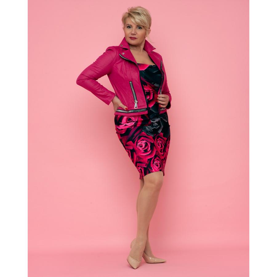 JOSEPH RIBKOFF pink színű női dzseki