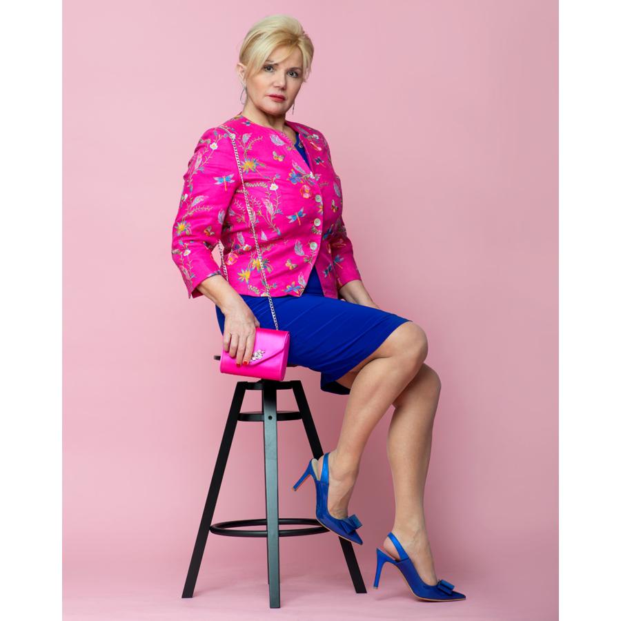 ROFA pink női zakó
