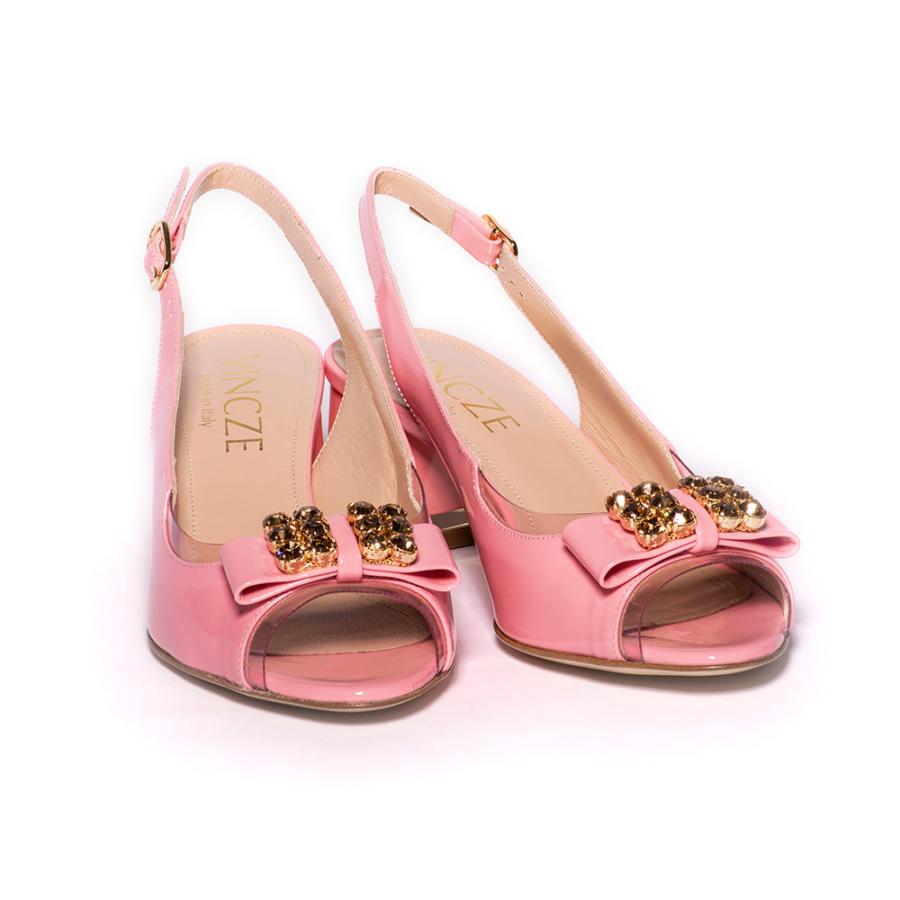 MODA DI VINCZE rózsaszín női szandál (36)
