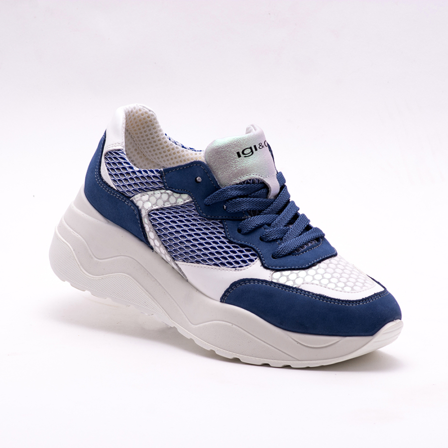 IGI&CO kék-fehér női sportcipő